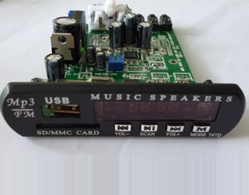 digital audio amplifier with MP3