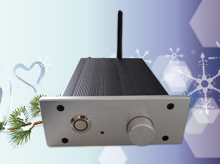 high end aluminum Portable Bluetooth power signal amplifier