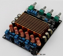 STA508 2.1 160W+80W+80W Class D amplifier completed board