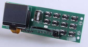 high quality OEM bluetooth MP3 decorder module with LCD display