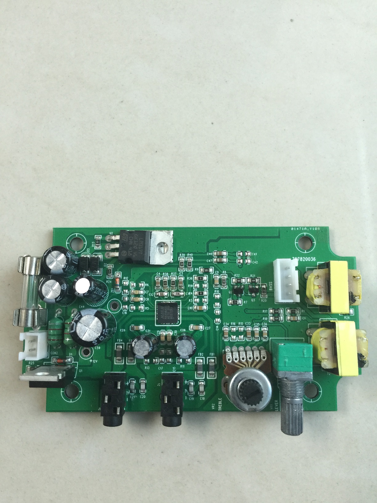MAX98400A class D  audio amplifier board 2*15W with volume control