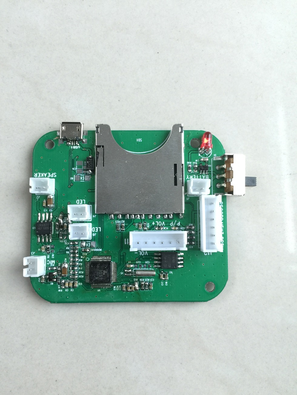 New large capacity SD card recording module