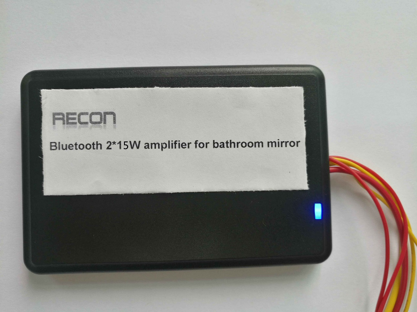 compact bathroom mirror bluetooth amplifier