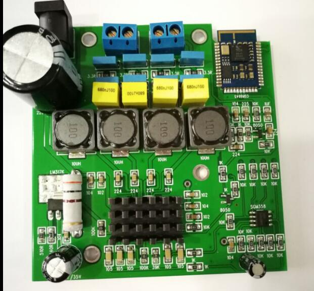 TPA3116 CSR4.0 Bluetooth Amplifier Module support APTX