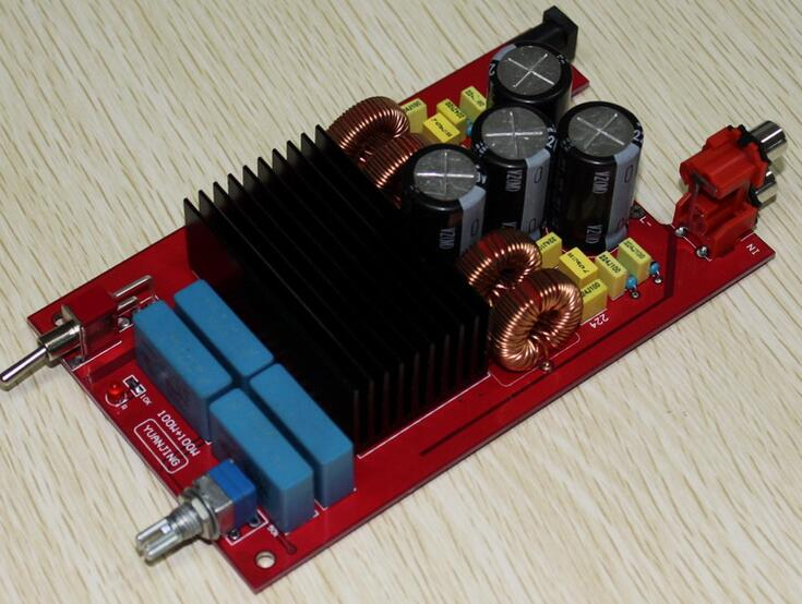 class D power amplifier module 2*100W